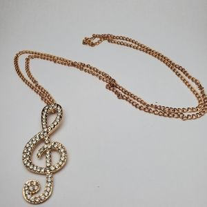 Jewelry - Musical Note Necklace